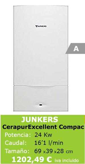 Ficha técnica Junker excellence compact