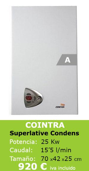Cointra Superlative Condens. mejor caldera condensación