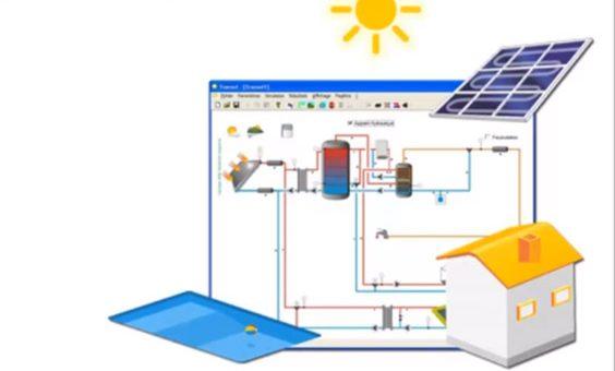 Simulación del ahorro con energía solar térmica