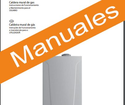 Manuales Calderas Baxi Roca