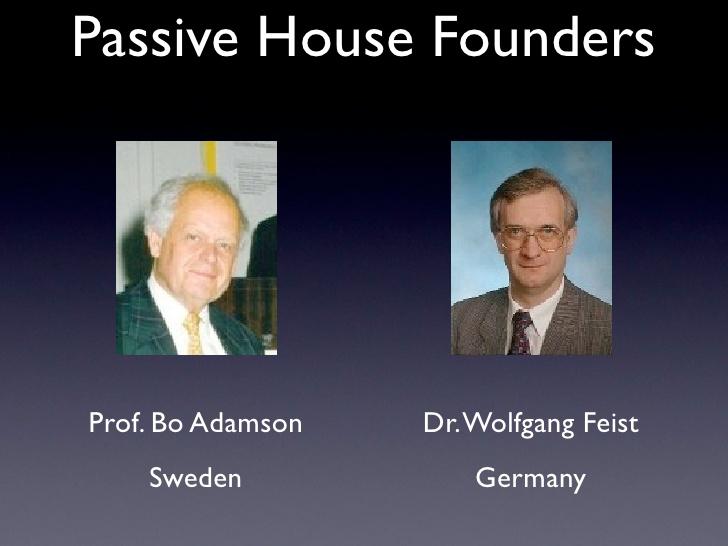 quien hizo la primera Passive Haus